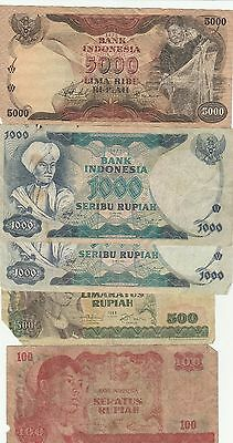 5  X  Indonesia    World Bank Notes