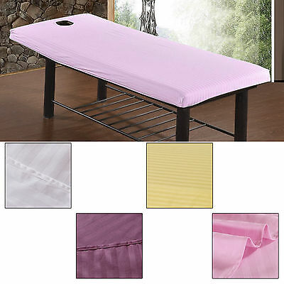 1PCS SPA Beauty Massage Cure Bed Table Elastic Cover sheets + Face Breath Hole