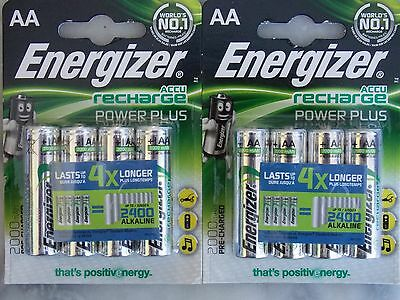 4X2 piles rechargeables AA ENERGIZER
