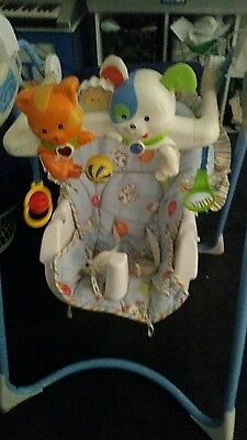 fisher price playful pets baby swing