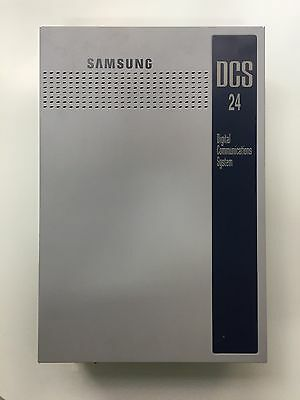 Samsung Telephone System DCS 24 with 8 handsets