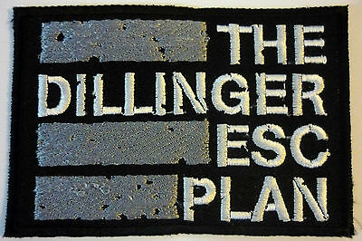 THE DILLINGER ESCAPE PLAN embroidered patch Converge Botch Poison The Well