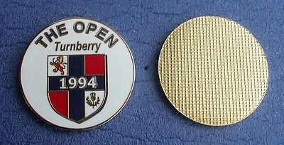 FLAT 1 inch  Golf ball marker 1994 Open TURNBERRY (Nick Price)