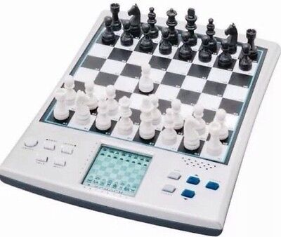 14 IN 1 TALKING ELECTRONIC VOICE CHESS SET COMPUTER MAGNETIC BOARD Australia !!!