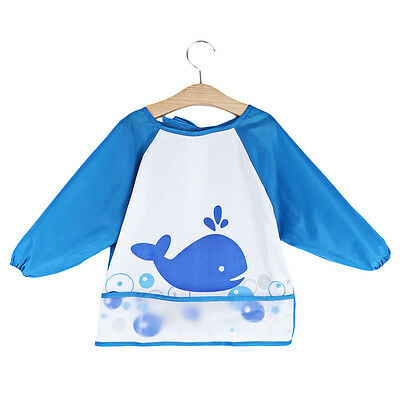 Kids/Children's Smock for Art,Craft,Painting,Drawing,Eating (Sizes /Ages 1 to 7)