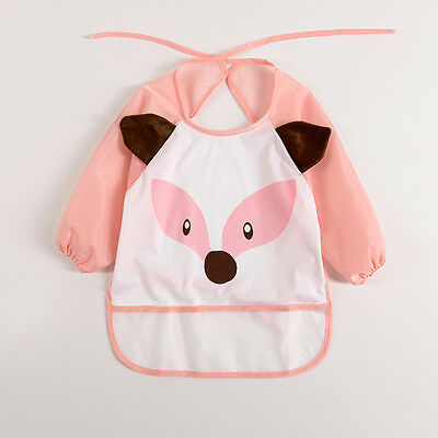 Kids/Children's Smock for Art, Craft, Painting, Drawing, Eating (Ages 0-2)