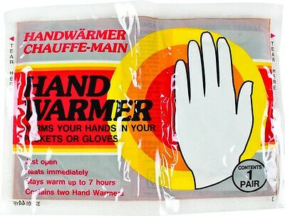 Pairs of 7 Hour Hand Warmers -Gloves / pockets -Ski Snowboard Hiking- From £1.49