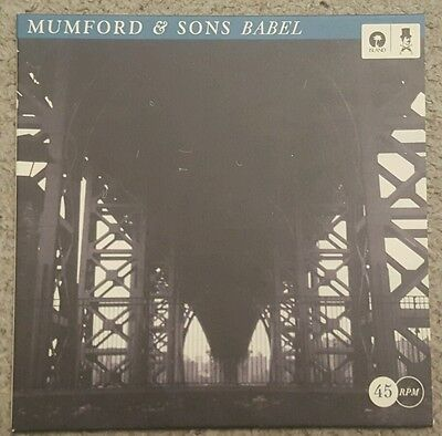 """MUMFORD AND SONS - BABEL - 7"""" SINGLE  - ONLY 1000 COPIES No. 636- UNPLAYED MINT"""