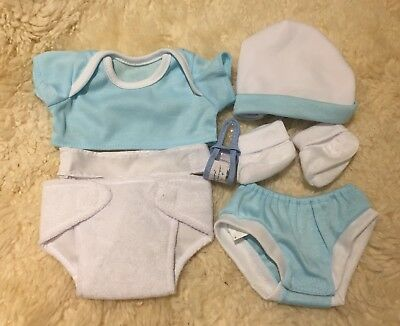 Berenguer La Newborn Dolls Clothes Layette 12-14 Inch Blue Baby Boy Doll Reborn