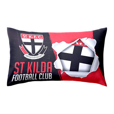 St Kilda Saints AFL Pillow Case Pillowcase Birthday Fathers Gift *NEW 2018*