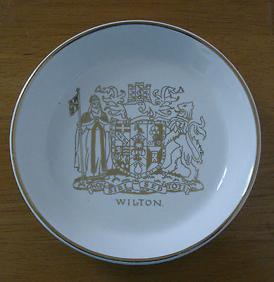Wade ~ Trinket Dish / Ash Tray ~ Wilton Castle Coat Of Arms