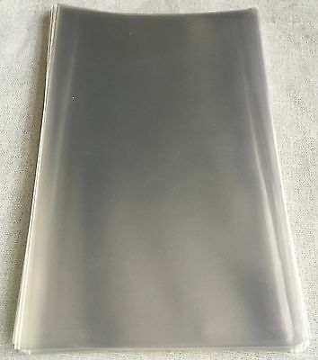 100 Clear Cellophane Bags With NO FLAP - 15.5cm (L) x 10cm (W) *CLEARANCE*