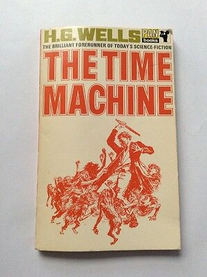 Sci Fi Book - The Time Machine by HG Wells - paperback