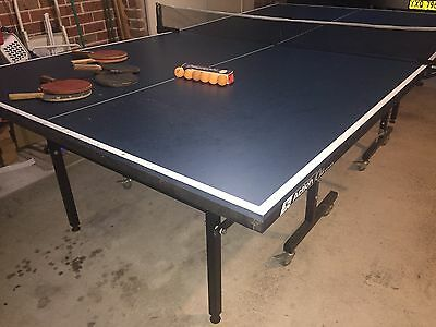 Table Tennis table (fold up) & accessories