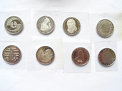 8 x 5 Mark Deutschland 1980 - 1984 PP  in Folie