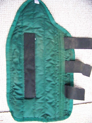 Tail Guard Airborn Cob Size Green, Velcro Fastenings Good condition