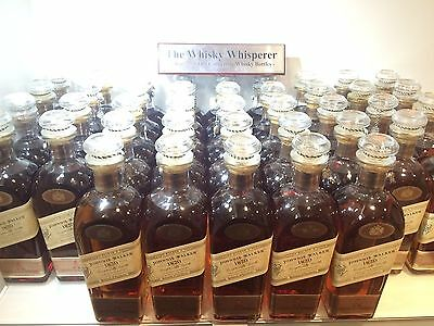 JOHNNIE WALKER 700ml 1820 White Label - Numbered Bottles - No Boxes