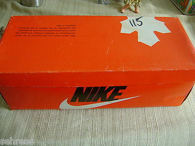 Vintage 1978 Nike All Court White/ Blue 7300  Shoe Box Only