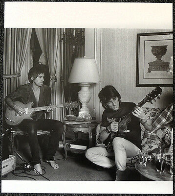 The Rolling Stones Poster Page Keith Richards & Ron Wood . Y78