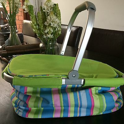 Large 30L Picnic Basket/carrier, Insulated New