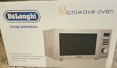 DeLonghi AC9E Combination Microwave - Stainless Steel