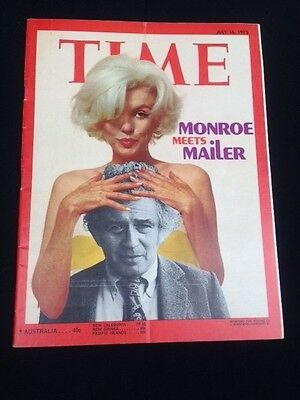 Marilyn Monroe  Time Magazine Cover Story   1973