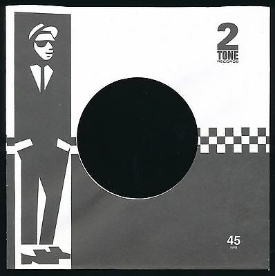 TWO-TONE REPRODUCTION RECORD COMPANY SLEEVES - (pack of 10)