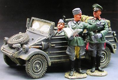 King & Country's Fields of Battle Kubelwagen with figures FOB020