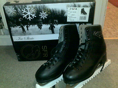 Mens Black Figure Skates