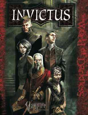 Vampire the Requiem Roleplaying Game Horror Invictus