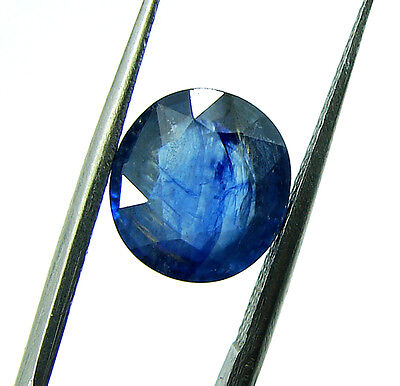 3.70 Ct Certified Natural Blue Sapphire Loose Gemstone Oval Cut Stone - 103279