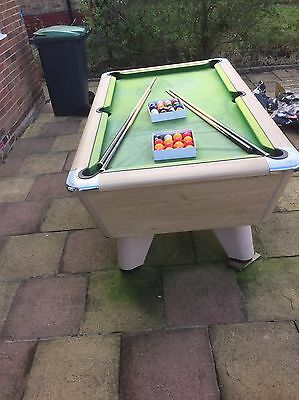 6x3 Slate Bed Pool Table