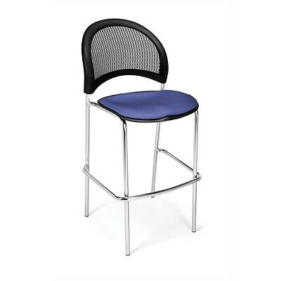 OFM Moon CafT Height Chair, Colonial Blue
