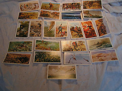 Players Donicella History of the V.C. set of 24 cards.