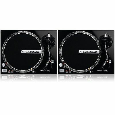 Reloop RP2000M Direct Drive Turntables (pair)