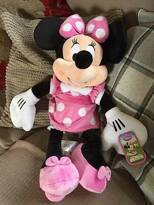 Minnie Mouse Cuddly Toy New