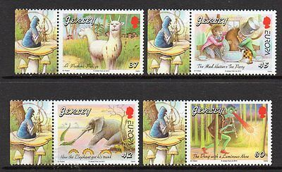 Jersey 2010 Europa, Childrens Books M/m Set Of 4 Cat £8+
