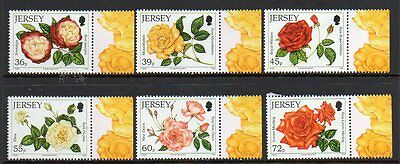 Jersey 2010 Roses M/m Set Of 6 Cat £9+