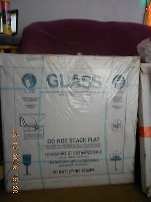 Pack of 5 Brand new greenhouse glass size 610mm x 610mm