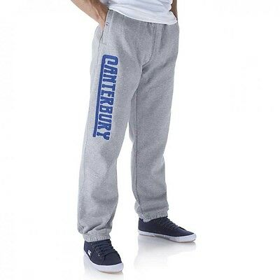 Canterbury Mens Grey Cuffed Sweat Pant / Jog Bottom Only 2 Left Size Xl Rrp £40
