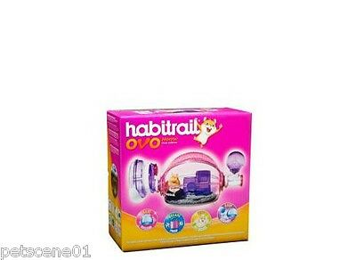 Habitrail Ovo Home - Pink Edition 62664 For Hamsters