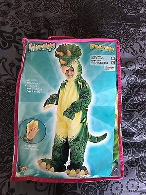 Costume Triceratops luxe enfant 4-6 ans