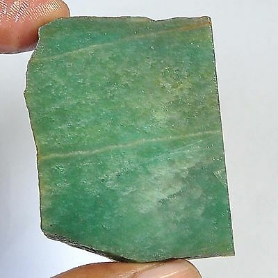 172.80 Cts 100%natural colombian green Nephrite Jede slice rough for gemstone