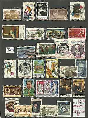 3292:..    COLLECTION of USED   UNITED  STATES....::::::::::::::::::::::::