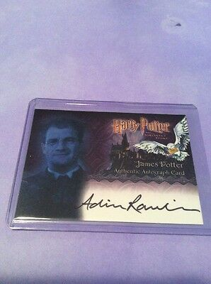 2005 Artbox Harry Potter SS Autograph for Rawlins