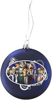 Dr Who Doctor Who Kurt Adler Dr. Who Glass Disc Ornament, 100mm