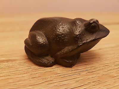 Coal Inspirations Frog Ornament Decoration Figurine