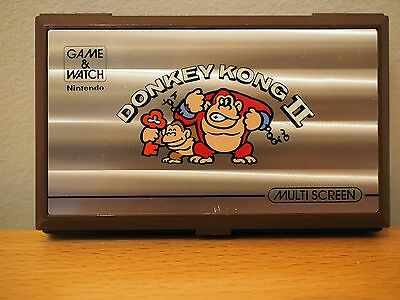 Nintendo Game and & Watch Donkey Kong II 2 Tested Multi Screen JR-55 - EXCELLENT