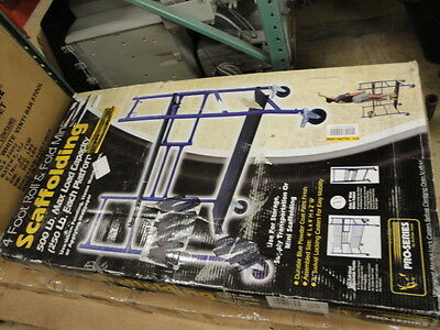 New Buffalo Corporation GSM4BF 4 Foot Rolling Mini Scaffold SAME DAY SHIP!!