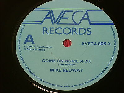 """Mike Redway:  Come On Home   UK  Near Mint   7"""""""